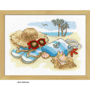 Riolis counted cross stitch Kit Holiday by the Sea, DIY