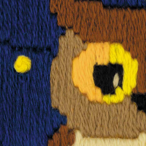 Riolis counted cross stitch Kit Owl Among The Stars, DIY