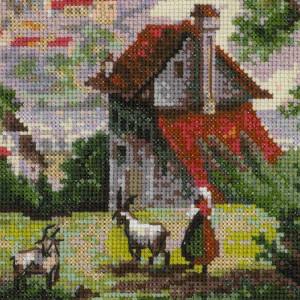 "Riolis Kreuzstich-Set ""Kloster Shonenvert nach..."