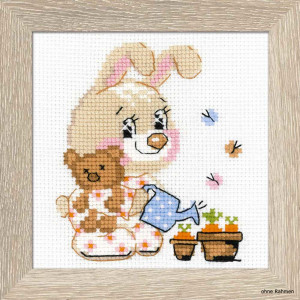 Riolis counted cross stitch Kit Little Garden, DIY