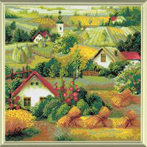 Riolis Diamond Mosaic Kit Serbian Landscape, DIY
