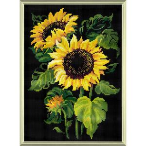 Riolis Diamond Mosaic Kit Sunflowers, DIY