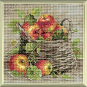 Riolis Diamond Mosaic Kit Ripe Apples, DIY