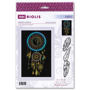 """Dream Catcher"" embroidery kit cross stitch Riolis"