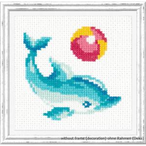 "Magic Needle Kreuzstichset ""Delphin"",..."