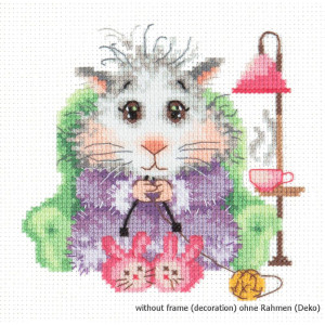 Magic Needle Counted cross stitch kit I Knit to Order, 12...