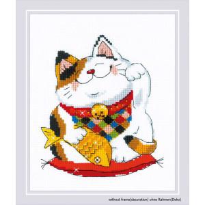 """Good Luck"" embroidery kit cross stitch Riolis"