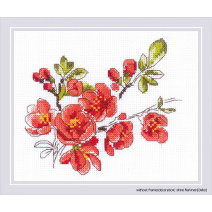 """""""The Branch of Cydonia"""" embroidery kit cross..."""