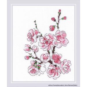 """The Branch of Sakura"" embroidery kit cross..."