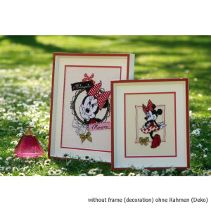 Vervaco counted cross stitch kit Disney Its all about...
