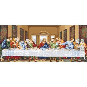 """Luca-S Kreuzstich Set """"Das letzte Abendmahl"""",..."""