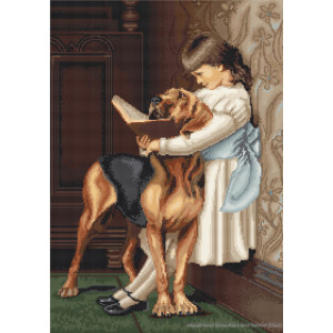 """Luca-S counted Cross Stitch kit """"Hour of..."""