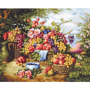 """Luca-S counted Cross Stitch kit """"Still Life on..."""