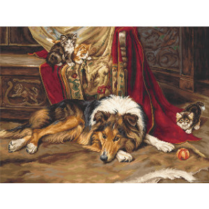 """Luca-S counted Cross Stitch kit """"A Reluctant..."""