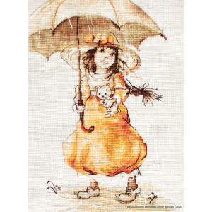 """Luca-S counted Cross Stitch kit """"Under the..."""