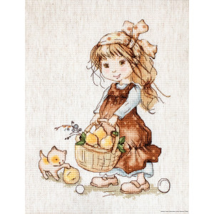 """Luca-S counted Cross Stitch kit """"Gathering..."""
