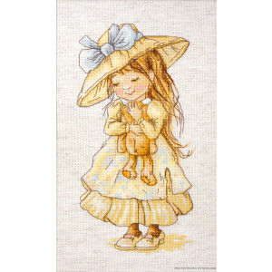 """Luca-S counted Cross Stitch kit """"Finally Found..."""