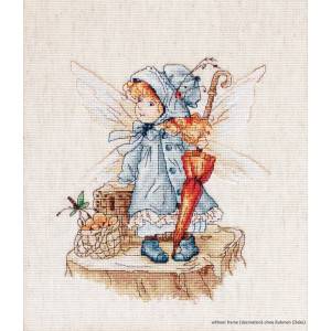 """Luca-S counted Cross Stitch kit """"Flying fairy"""",..."""