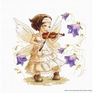 """Luca-S counted Cross Stitch kit """"Sounds of a..."""