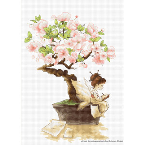 "Luca-S counted Cross Stitch kit ""The Sakura"",..."