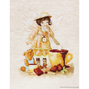 """Luca-S counted Cross Stitch kit """"Chocolate..."""