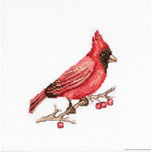 """Luca-S Kreuzstich Set """"Cardinal"""",..."""