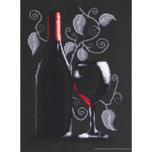 """Luca-S counted Cross Stitch kit """"Bottle of..."""