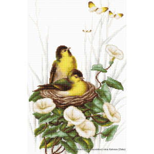 """Luca-S counted Cross Stitch kit """"Birds in the..."""