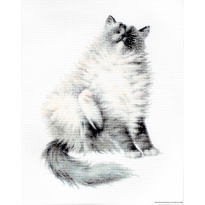 """Luca-S counted Cross Stitch kit """"Micky"""",..."""