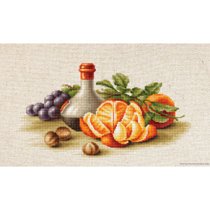 """Luca-S counted Cross Stitch kit """"Still Life with..."""