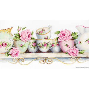 """Luca-S counted Cross Stitch kit """"Assorted China..."""