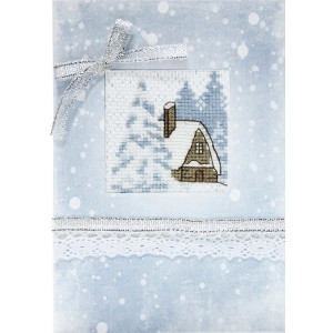 Luca-S counted Cross Stitch kit Postcard...