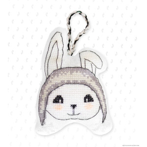 """Luca-S counted Cross Stitch kit Toy """"Bunny"""",..."""
