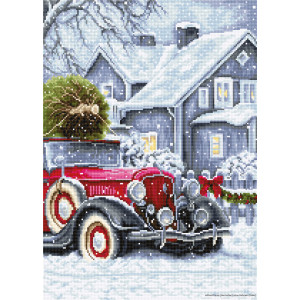 """Luca-S counted Cross Stitch kit """"Winter..."""