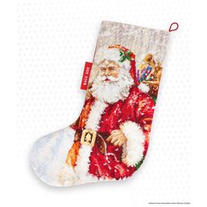 Luca-S Kreuzstich Set Weihnachtsstrumpf...