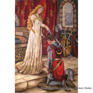 """Merejka counted Cross Stitch kit """"The Accolade""""..."""