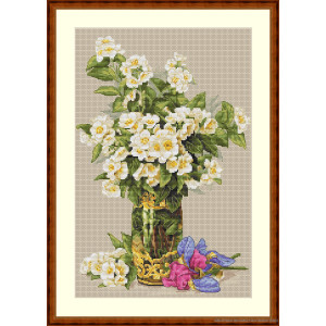 """Merejka counted Cross Stitch kit """"Sweet-scented..."""