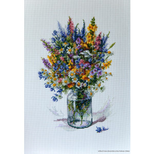 """Merejka counted Cross Stitch kit """"The Thistle..."""