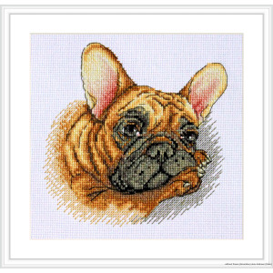 """Merejka counted Cross Stitch kit """"French..."""