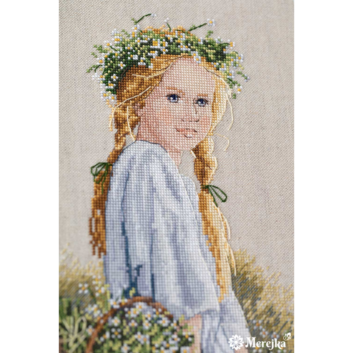 """Merejka counted Cross Stitch kit /""""On the Dowry/"""" DIY"""