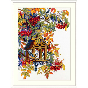 """Merejka counted Cross Stitch kit """"Colorful..."""