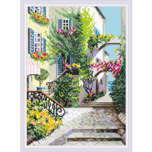 """Riolis Diamond Painting """"The Italian Courtyard..."""