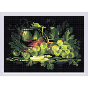 Riolis Diamanten Malerei Stillleben mit Zitrone, 38x27cm