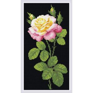 "Riolis Diamanten Malerei ""Wonderful Rose"", 20x38cm"