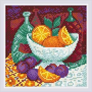 Riolis Diamond Painting Oranges, 20x20cm