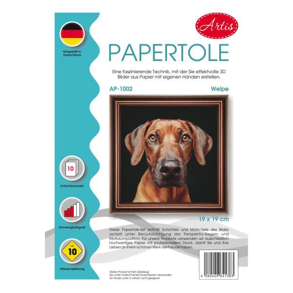 Artis Papertole Welpe