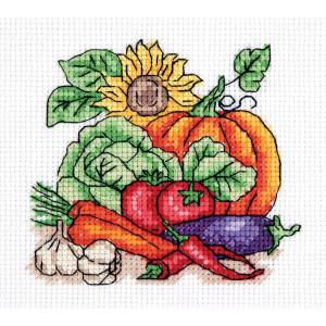 """Klart counted cross stitch kit """"Autumn Harvest""""..."""