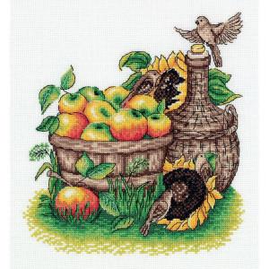 "Klart counted cross stitch kit ""Apple Harvest""..."