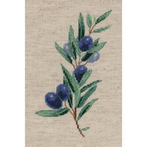 "Klart counted cross stitch kit ""Olive Sprig""..."