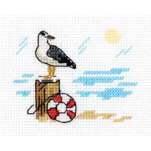 """Klart counted cross stitch kit """"Sketches...."""